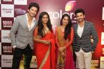 L-R Siddhant aka Manish Raisinghania, Roli aka Avika Gor, Simar aka Deepika Samson and Prem aka Dheeraj Dhoopar  at the celebration of Sasural Simar Ka 1000 episode completion_5448d3ddcf97d.JPG