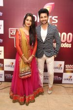 Simar aka Deepika Samson with Prem aka Dheeraj Dhoopar at the celebration of Sasural Simar Ka 1000 episode completion_5448d3df8e8b5.JPG