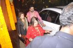 Abhishek Bachchan at Amitabh Bachchan and family celebrate Diwali in style on 23rd Oct 2014