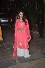 Aditi Rao Hydari at Amitabh Bachchan and family celebrate Diwali in style on 23rd Oct 2014