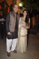Ashutosh Gowariker, Sunita Gowariker at Amitabh Bachchan and family celebrate Diwali in style on 23rd Oct 2014