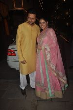 Genelia Deshmukh, Riteish Deshmukh at Amitabh Bachchan and family celebrate Diwali in style on 23rd Oct 2014 (212)_544a46ee666f9.JPG