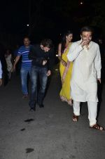 Hrithik Roshan, Uday Chopra, Nargis Fakhri, Sikander Kher at Amitabh Bachchan and family celebrate Diwali in style on 23rd Oct 2014 (116)_544a488783dff.JPG