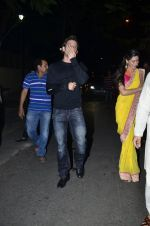 Hrithik Roshan, Uday Chopra, Nargis Fakhri, Sikander Kher at Amitabh Bachchan and family celebrate Diwali in style on 23rd Oct 2014