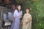Jaya Bachchan at Amitabh Bachchan and family celebrate Diwali in style on 23rd Oct 2014