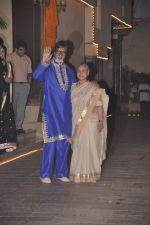 Jaya Bachchan, Amitabh Bachchan at Amitabh Bachchan and family celebrate Diwali in style on 23rd Oct 2014