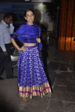 Kangana Ranuat at Amitabh Bachchan and family celebrate Diwali in style on 23rd Oct 2014