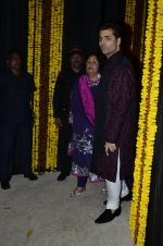 Karan Johar at Amitabh Bachchan and family celebrate Diwali in style on 23rd Oct 2014