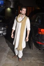 Neil Mukesh at Amitabh Bachchan and family celebrate Diwali in style on 23rd Oct 2014