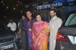 Poonam Sinha, Shatrughan Sinha, Luv Sinha at Amitabh Bachchan and family celebrate Diwali in style on 23rd Oct 2014