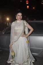 Prachi Desai at Amitabh Bachchan and family celebrate Diwali in style on 23rd Oct 2014 (229)_544a497873d95.JPG