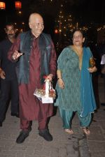 Prem Chopra at Amitabh Bachchan and family celebrate Diwali in style on 23rd Oct 2014