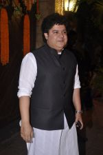 Sajid Khan at Amitabh Bachchan and family celebrate Diwali in style on 23rd Oct 2014