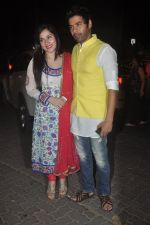 Shabbir Ahluwalia at Amitabh Bachchan and family celebrate Diwali in style on 23rd Oct 2014 (234)_544a4a254d0f5.JPG