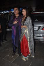 Shatrughan Sinha, Sonakshi Sinha at Amitabh Bachchan and family celebrate Diwali in style on 23rd Oct 2014