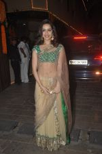 Shraddha Kapoor at Amitabh Bachchan and family celebrate Diwali in style on 23rd Oct 2014