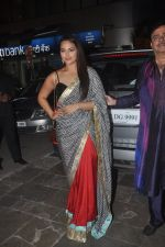 Sonakshi Sinha at Amitabh Bachchan and family celebrate Diwali in style on 23rd Oct 2014