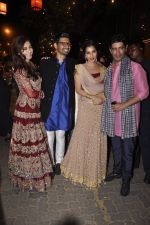 Urmila Matondkar, Manish Malhotra, Sophie Chaudhary at Amitabh Bachchan and family celebrate Diwali in style on 23rd Oct 2014