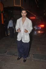 Varun Dhawan at Amitabh Bachchan and family celebrate Diwali in style on 23rd Oct 2014