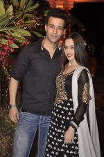 Aamir Ali, Sanjeeda Sheikh at Sachiin Joshi_s Diwali bash in Mumbai on 24th Oct 2014 (51)_544b8f501112f.JPG