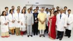 Nita Ambani, Mukesh Ambani, Narendra Modi at HN Reliance Foundation hospital launch by Modi in Mumbai on 25th Oct 2014 (5)_544ccea558c61.jpg