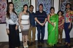 Rishi Kapoor, Tanisha Mukherjee, Sana Khan at Dr.Seema Chaudhary & Nitin Chaudhary_s art show inauguration in Prince of Vales on 26th Oct 2014 (84)_544e1bdb728ed.JPG