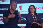Neeraj Roy, Farah Khan at Happy New Year game launch by Hungama in Taj Land_s End, Mumbai on 27th Oct 2014 (125)_544f75c9295bb.JPG