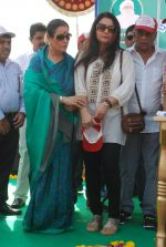 Poonam Dhillon, Poonam Sinha at Swacch Bharat campaign in MMRDA on 28th Oct 2014 (12)_5450935993e85.JPG