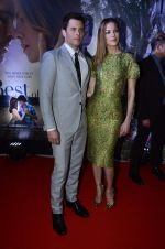 James Marsden & Michelle Monaghan at The Best of Me premiere in PVR, Mumbai on 29th Oct 2014 (54)_54521c7225682.JPG