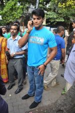 Saahil Khan snapped at Andheri Court in Mumbai on 29th Oct 2014 (1)_5452265cb5f81.JPG