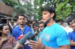 Saahil Khan snapped at Andheri Court in Mumbai on 29th Oct 2014 (10)_545226635d80f.JPG