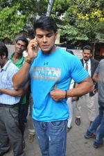 Saahil Khan snapped at Andheri Court in Mumbai on 29th Oct 2014 (14)_54522667346ca.JPG