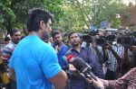 Saahil Khan snapped at Andheri Court in Mumbai on 29th Oct 2014 (4)_5452265f443a2.JPG