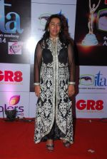 Anu Ranjan at ITA Awards red carpet in Mumbai on 1st Nov 2014 (340)_54563365136fe.JPG