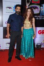 Eijaz Khan at ITA Awards red carpet in Mumbai on 1st Nov 2014 (260)_545635b3ab055.JPG