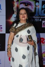 Himani Shivpuri at ITA Awards red carpet in Mumbai on 1st Nov 2014 (358)_545635d3b75ad.JPG