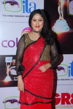 Jayati Bhatia at ITA Awards red carpet in Mumbai on 1st Nov 2014 (460)_545635e5a0885.JPG