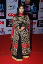 Kanchan Adhikari at ITA Awards red carpet in Mumbai on 1st Nov 2014 (51)_54563635bafc0.JPG