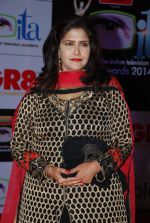Kanchan Adhikari at ITA Awards red carpet in Mumbai on 1st Nov 2014 (54)_545636398276c.JPG