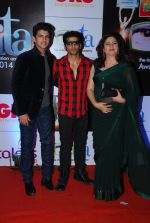 Kunika, Karanvir Bohra at ITA Awards red carpet in Mumbai on 1st Nov 2014 (235)_5456368519c90.JPG