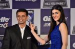 Kirti Sanon and Rahul Dravid at Gillette promotional event in Palladium, Mumbai on 4th Nov 2014 (34)_545a161ec0b7c.JPG