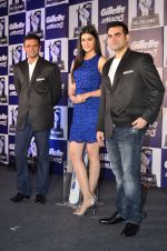 Kirti Sanon, Rahul Dravid and Arbaaz Khan at Gillette promotional event in Palladium, Mumbai on 4th Nov 2014 (43)_545a162097f31.JPG