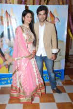 Shefali Sharma, Kinshuk Mahajan at Sony launches Tum Aise Hi Rehna in Mira Road on 4th Nov 2014 (18)_545a1cc30dfec.JPG