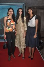 Nethra Raghuraman, Dipannita Sharma and Fleur Xavier at the First Look and Music Launch of the film Take It Easy in Andheri, Mumbai on 5th Nov 2014 (49)_545b85cb57a4d.JPG