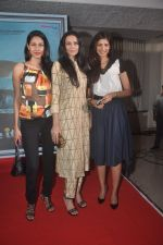 Nethra Raghuraman, Dipannita Sharma and Fleur Xavier at the First Look and Music Launch of the film Take It Easy in Andheri, Mumbai on 5th Nov 2014 (54)_545b858c768a8.JPG