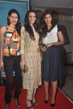 Nethra Raghuraman, Dipannita Sharma and Fleur Xavier at the First Look and Music Launch of the film Take It Easy in Andheri, Mumbai on 5th Nov 2014 (52)_545b85cdbbd59.JPG