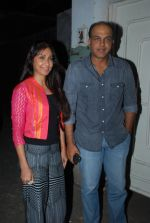 Sunita Gowariker, Ashutosh Gowariker at the special screening of Chaar Sahibzaade in Sunny Super Sound on 5th Nov 2014 (50)_545b7ca228222.JPG
