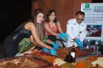 Amrita Raichand and Giselle Thakral at Cake mixing Event in Holiday Inn on 8th Nov 2014 (10)_545f4d3f67a60.JPG