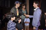 Zayed Khan, Hrithik Roshan with kids at Raell Padamsee_s show by Lior Ruchard in St Andrews on 8th Nov 2014 (98)_545f4dd6e157b.JPG