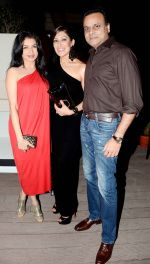 BHAGYASHREE & HIMALAYA WITH MAHEKA at Maheka Mirpuri birthday party on 8th Nov 2014_546061e52f585.jpg